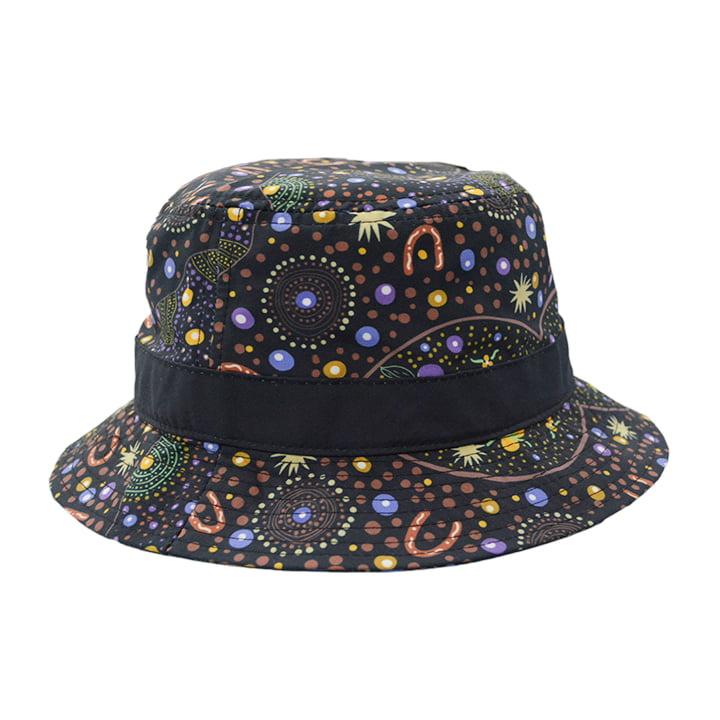 Hat Bush Food Large - Bucket Hat - Warrina Designs 16722f4acc1